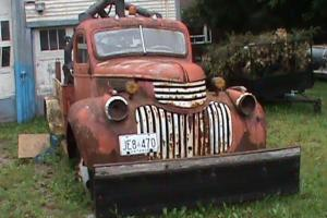 Chevrolet : Other MAPLE LEAF 1946 TOWING MODEL