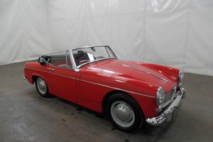 CLASSIC 1965 MG MIDGET SOFT TOP CONVERTIBLE LOW MILEAGE BARGAIN PX WELCOME Photo