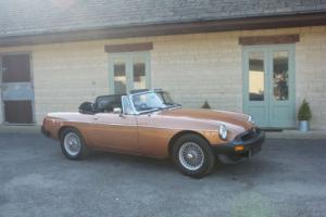 1981 MG B LE Roadster Photo