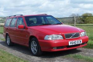1999 Volvo V70 2.5 XT D Automatic,genuine 79000 miles,FSH,great car!