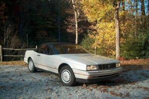 Cadillac : Allante Base Convertible 2-Door