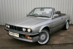 1988 BMW E30 320i AUTOMATIC CABRIOLET ***STUNNING LOW MILEAGE EXAMPLE***