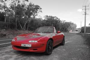 Mazda MX5 Convertible Miata Roadster NEW Paint Long Rego in Ryde, NSW