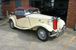 1950 MG TD 1250cc Photo