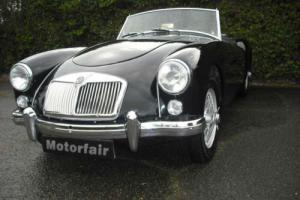1959 MG/ MGA 1588cc Black,Wire wheels,Leather interior, Home Market vehicle.