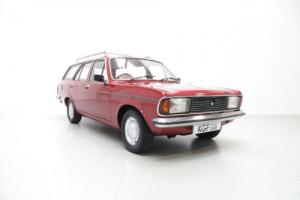A Quirky Rare Talbot Avenger 1.6 GLS Estate with Just 60,441 Miles from New.