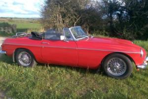1969 MG / MGB Roadster Superb Condition Px Classic Motorcycle Photo