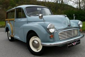 1969 Morris Minor Traveller, very tidy 1 previous keeper on V5