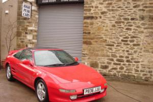 1996 P TOYOTA MR2 2.0 GT T BAR 72206 MILES ONE OWNER UNMOLESTED AND STANDARD.