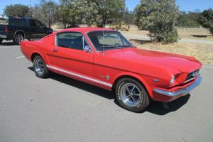 Ford Mustang Fastback 289V8 California Import