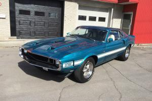 Ford : Mustang SHELBY GT500 1969
