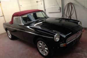 MGB 1978 BLACK ROADSTER SEBRING VALANCES STUNNING £1000 of this month only Photo