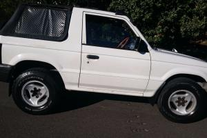 Mitsubishi Pajero Soft TOP 4x4 1993 Manual 2 5L Diesel Turbo in Vaucluse, NSW