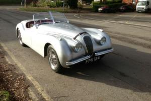 Jaguar XK120 OTS Photo