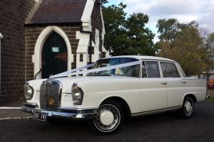 Rare Classic 1966 Mercedes Benz 230s Fintail Sedan W111 Heckflosse in Sunbury, VIC