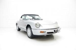 A Spectacular Alfa Romeo Spider Series 4 in Show Condition
