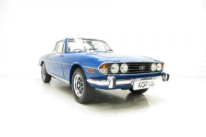 A Superb Triumph Stag Automatic with a Colossal History File from New Photo