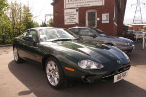 Jaguar XK8 4.0 Auto Sherwood Green With Ivory Leather Interior
