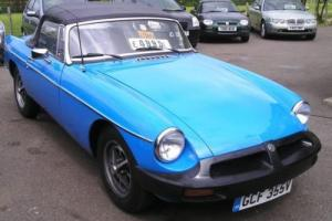 1979 MG/ MGF B Roadster, Overdrive, Massive Service History Photo