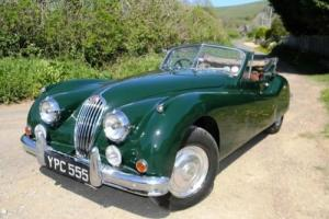 1955 Jaguar XK140 Drophead Coupé Photo