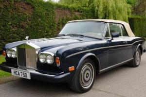 1985 Rolls-Royce Corniche Convertible Series II Photo