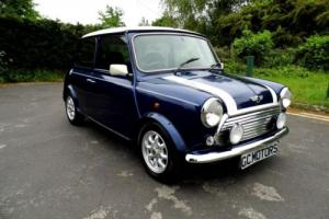 2000 Rover Mini Cooper Classic in Tahiti Blue