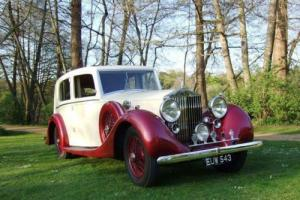 1938 Rolls-Royce 25/30 Saloon Photo