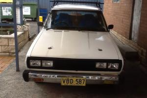 Datsun Stanza Project CAR 1980 039 S 1 6 Auto 4 Door