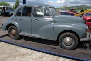 "1954 MORRIS MINOR BARN FIND 800CC ""STORED INSIDE FOR 30 YEARS"""