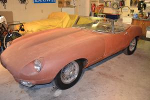 Jaguar : E-Type OTS Roadster