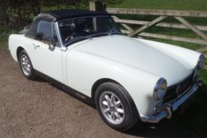 1972 MG Midget 1275 RWA Heritage Reshell. Excellent Condition