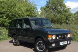 1988 Rover RANGE ROVER 3.5 EFI AUTOMATIC HARD DASH ++ 78,900 MILES FROM NEW ++