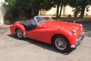 1962 TRIUMPH TR3A Photo
