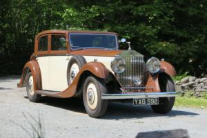 1935 Rolls-Royce Freestone & Webb Saloon GLG69 Photo