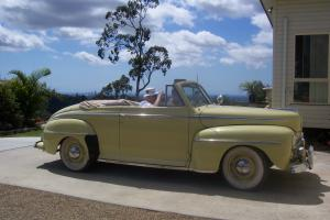 1947 Ford Convertible Deluxe