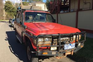 Toyota Landcruiser 4x4 1988 4D Wagon Manual 4L Diesel 6 Seats With RWC in VIC
