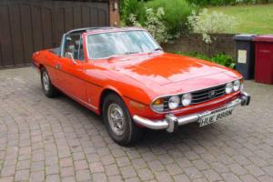 Triumph Stag Mk2 Photo