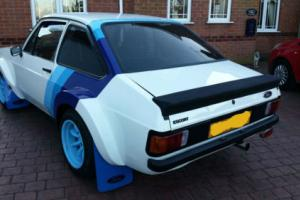 FORD ESCORT RS2000 1979 WORKS MONTE CARLO TARMAC RALLY CAR INSPIRED TRIBUTE