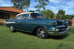 Chevy Belair 1957 2 Door Hard TOP Chevrolet BEL AIR 1957 Chevy Cruiser in QLD for Sale
