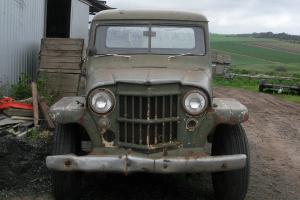 Willys Jeep Truck in SA