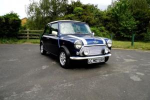 1998 Rover Mini Cooper in Tahiti Blue with Semi-Tuned Engine Photo