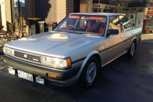 1986 toyota cressida 1 owner twin ohc 2 8lt 6cyl auto with rego in vic. Black Bedroom Furniture Sets. Home Design Ideas
