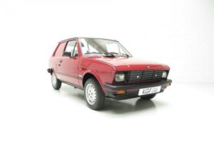 An Extremely Rare Yugo Zastava 55A Van with an Incredible 14,780 Miles from New.