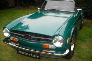 1973 Triumph TR6PI HISTORIC ROAD TAX QUALIFYING, Overdrive 3rd & 4th,UK Vehicle Photo