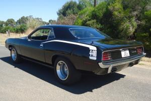 1970 Plymouth Cuda Mopar'S Finest 440 V8 Slap Stick Black Black Hemi Valiant in SA