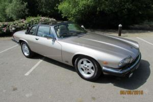 JAGUAR XJS 3.6 CABRIOLET 2+2 MANUAL 1987 - SILVER BIRCH - STUNNING