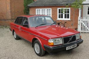 1986 VOLVO 240 GL 2.4 - ONE OWNER FROM NEW - FULL VOLVO SERVICE HISTORY -