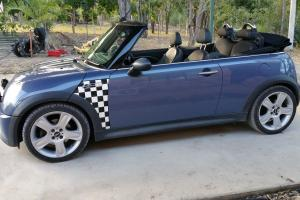 Mini Cooper S Cabrio 2005 2D Cabriolet Automatic 1 6L Supercharged Mpfi in QLD