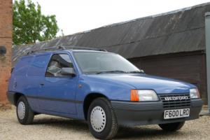 VAUXHALL / BEDFORD ASTRA 1.3 CAN - JUST 72 MILES FROM NEW !!