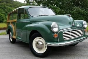 Morris Minor Traveller, 1971 Excellent refinished wood, new paint, new interior